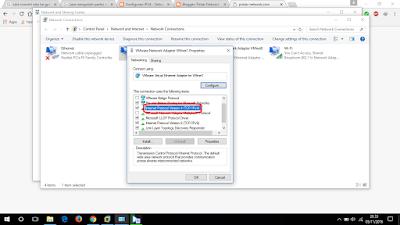 Setting IP adapter