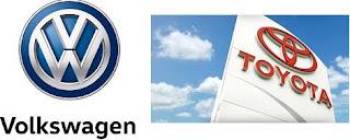 Volkswagen Toyota rekabeti
