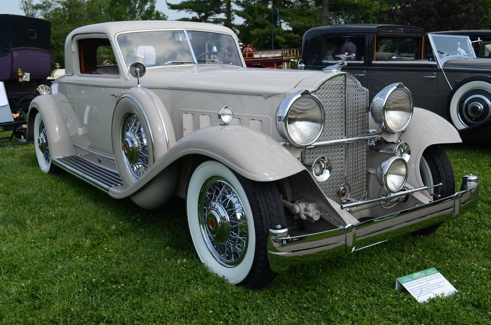 Turnerbudds Car Blog: More Pre-War Classics at Ault Park