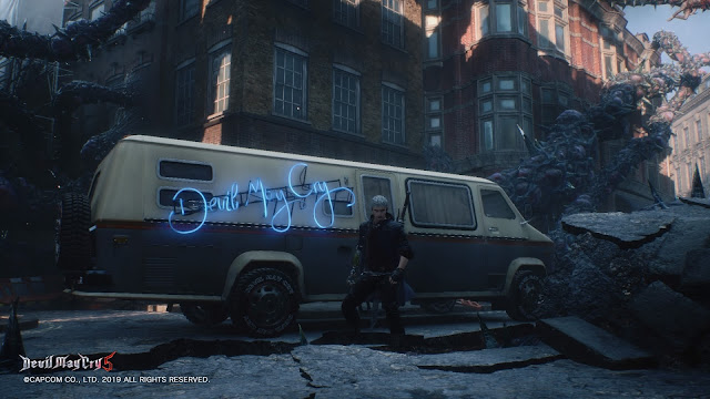 devil may cry 5 camion nico