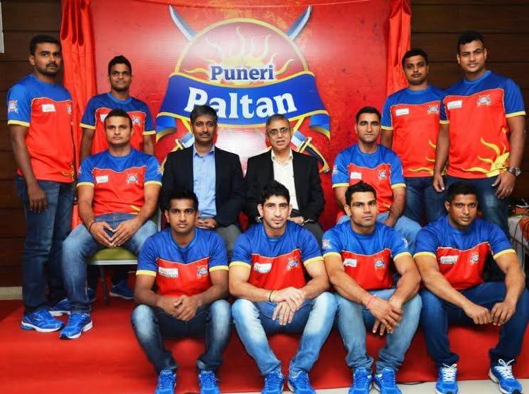 Puneri Paltan squad team 2017