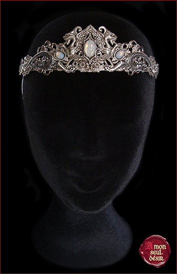 white opal dragon wedding crown bridal khaleesi circlet moon stone diadem daenerys targaryen jewelery