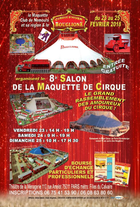 Burguscircus j 12 pour le 8 salon de la maquette paris for Salon de la maquette paris 2017