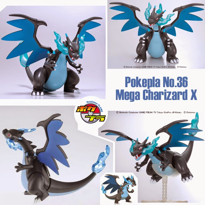 Image result for POKEPLA COLLECTION 36 SELECT SERIES Mega Lizardon X