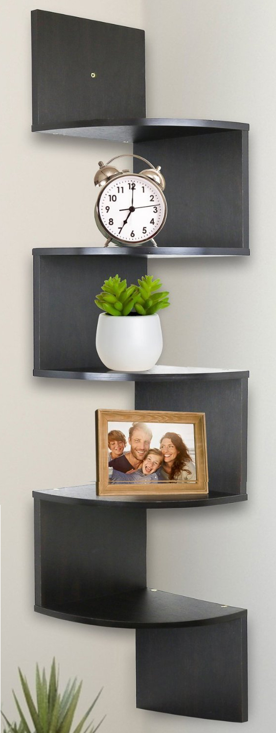 Greenco corner shelf from Amazon