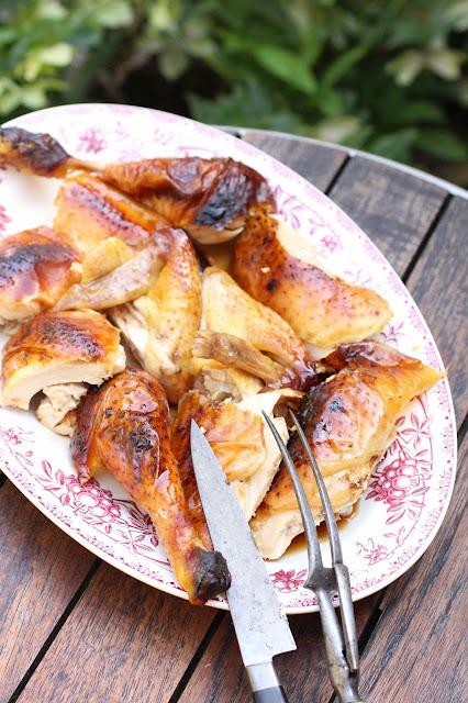 poulet roti sauce soja