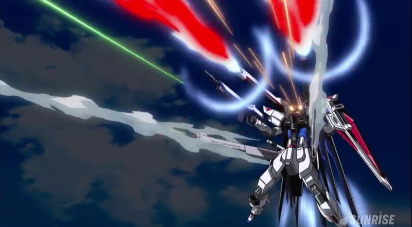 GUNDAM GUY: Mobile Suit Gundam SEED HD REMASTER Episode 38 'Into the Dawn Skies' (Eng Sub)