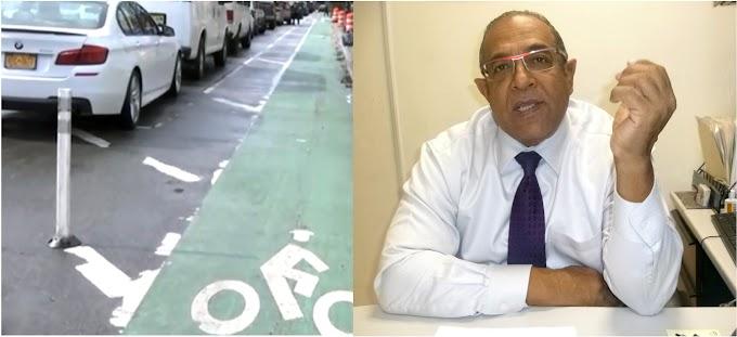 Junta decide eliminar ciclo vía en un lado de la calle Dickman en Alto Manhattan