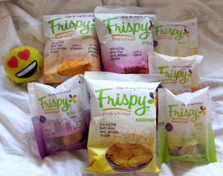 Frispy: Chips de Vegetais Desidratados