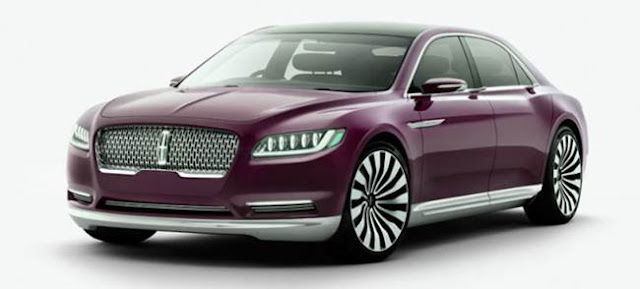 New 2017 Lincoln Continental Relase date
