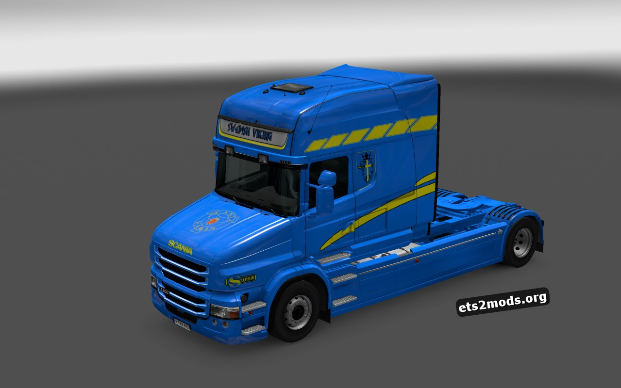 Swedish Viking Skin for Scania T