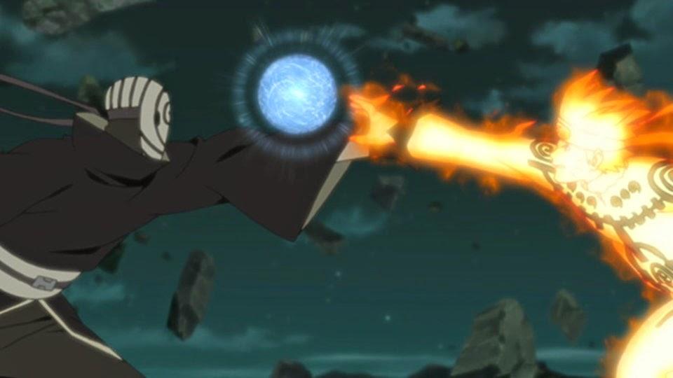 Tobi vs Naruto