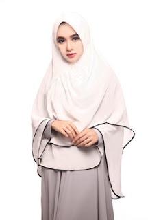Jilbab Instan Warna Putih Terbaru