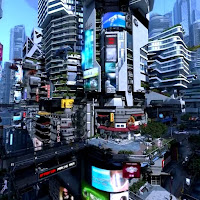 Futuristic City [Live Wallpaper Engine]