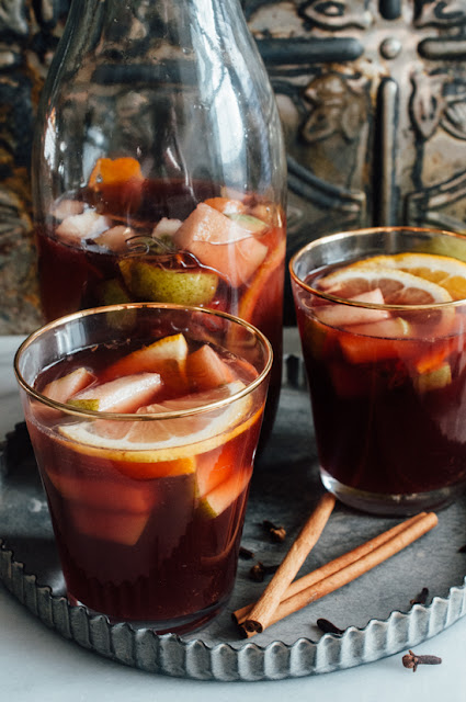 "Red Sangria from ""The Healing Kitchen""  {AIP, paleo, alcohol free}"