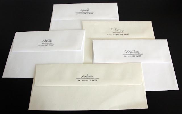 Return Labels For Wedding Invitations: Kara's Koncepts Graphic Design
