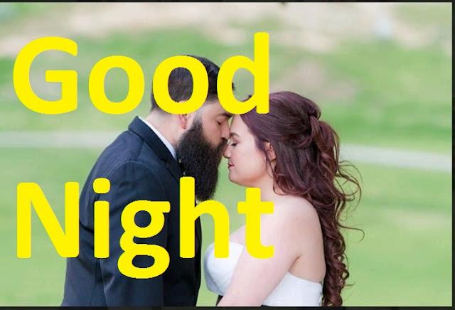 good night hug and kiss images