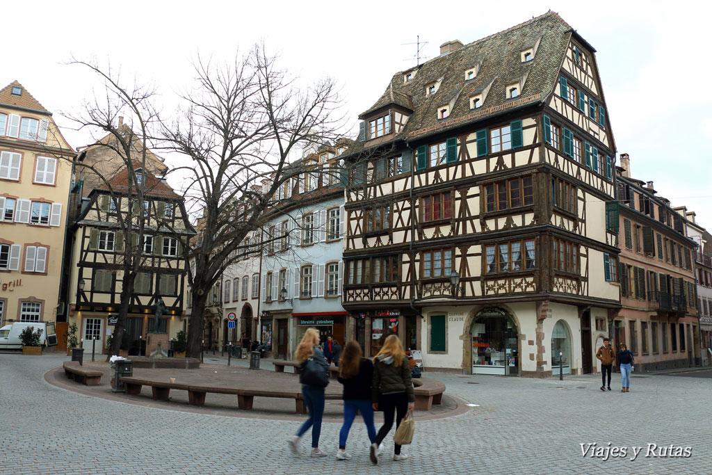 Plaza de Saint Etienne, Estrasburgo