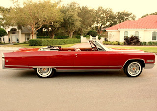 1966 Cadillac Eldorado Coupe Convertible Side Right
