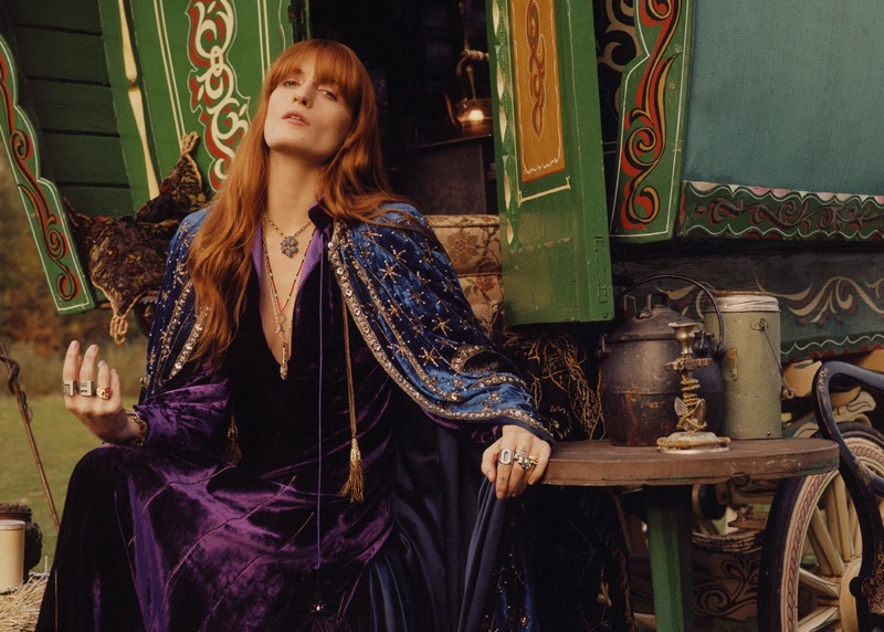 23ab1f589285 Gucci Fine Jewelry Campaign 2019 featuring Florence Welch