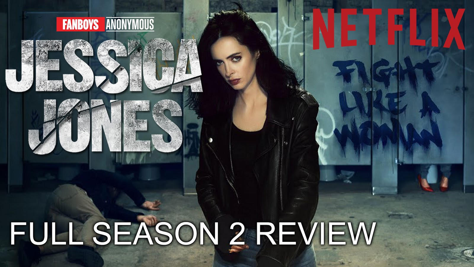 Netflix desktop Marvel's Jessica Jones wallpaper