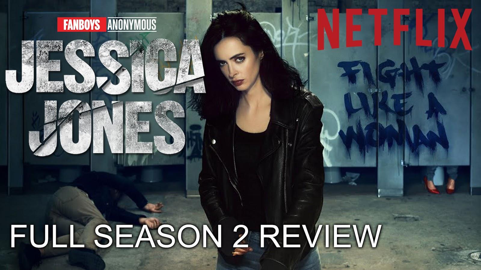 Netflix desktop Marvel's Jessica Jones wallpaper
