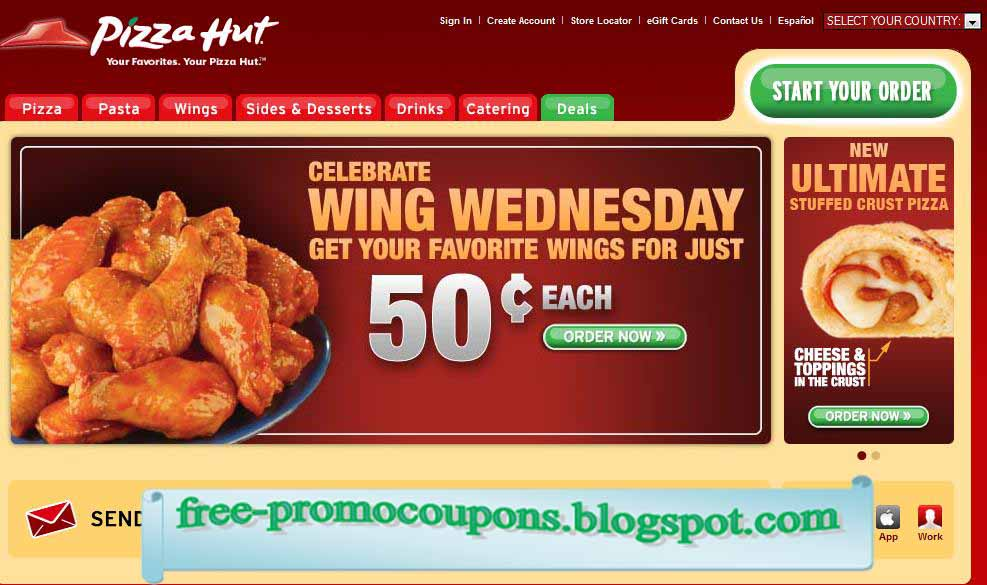 Pizza hut coupons careers