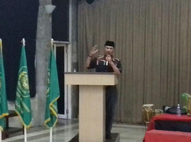 Maman Cawabup KBB Paslon No1 Hadiri Pelantikan Pengurus Rayon AMS Distrik KBB