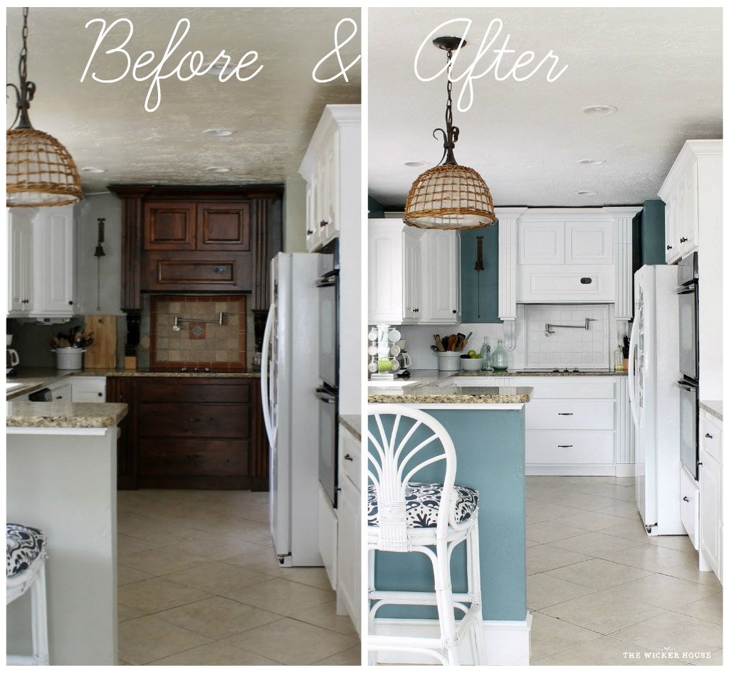 Color Spotlight Benjamin Moore Aegean Teal: My Fresh New Blue Kitchen Reveal