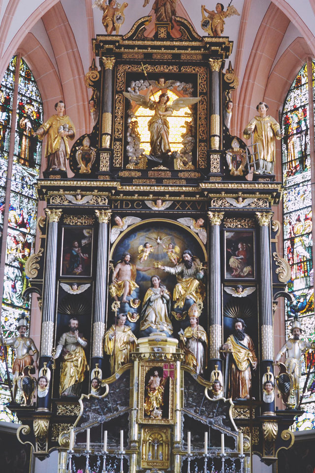St Michael's Church Mondsee Altar