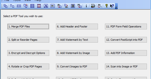PDFill 14.0.0.2 - PDF檔加浮水印分割或合併 - 阿榮福利味 - 免費軟體下載