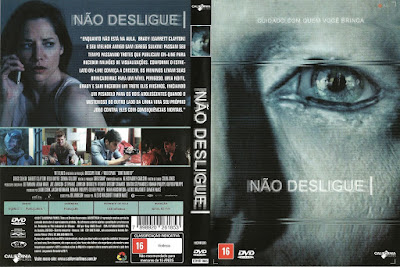 Filme Não Desligue (Don't Hang Up) DVD Capa