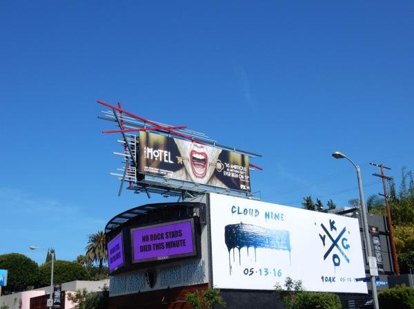 AHS Hotel Emmy FYC billboard