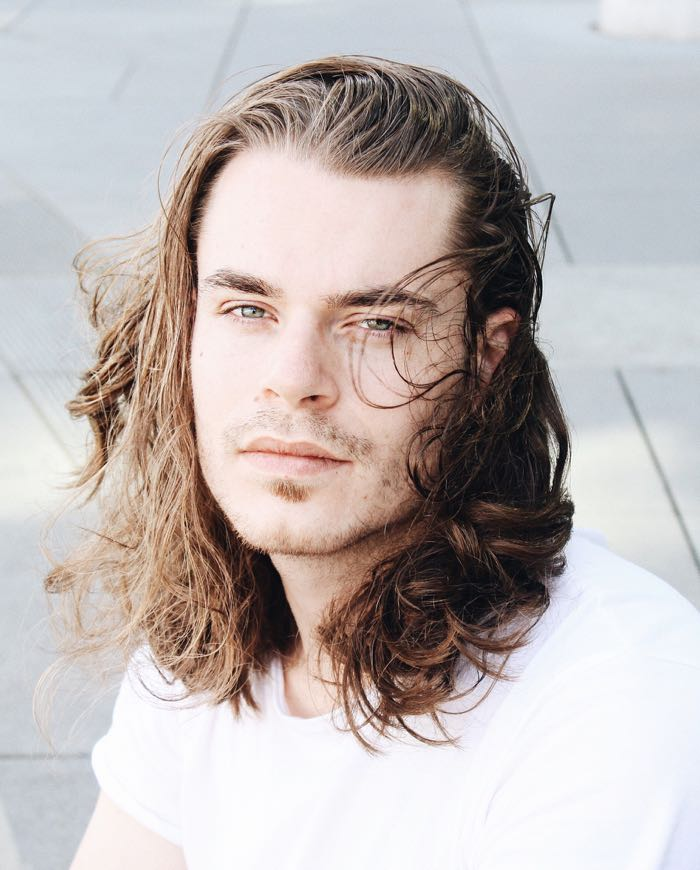 Influencers With Long Hair Hairstyles For Men Chris Spoelman