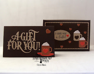 Our Daily Bread Designs, A Hug in a Mug, Mini Cups and Mugs, Latte Love, Gift Card Dies, A Gift for You Dies, The Giving Gift Box Dies, designed by Chris Olsen