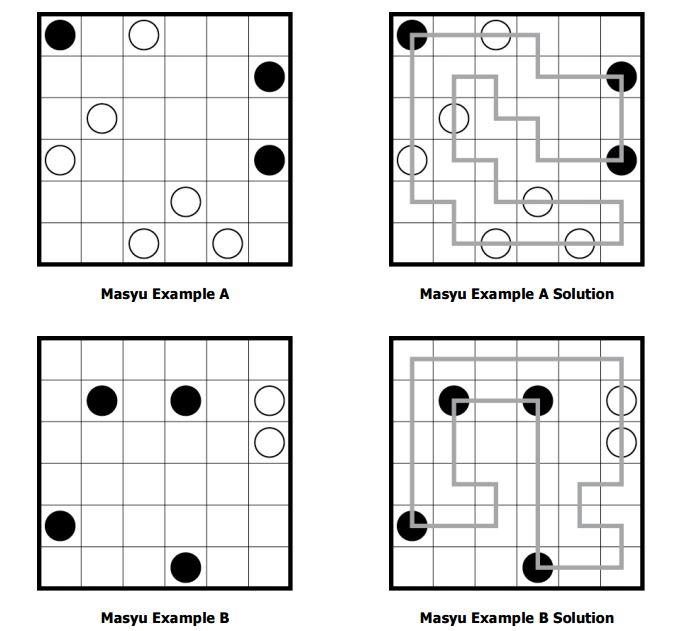 Math = Love: Logic Puzzle Love: Masyu Puzzles