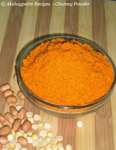 store the chutney powder