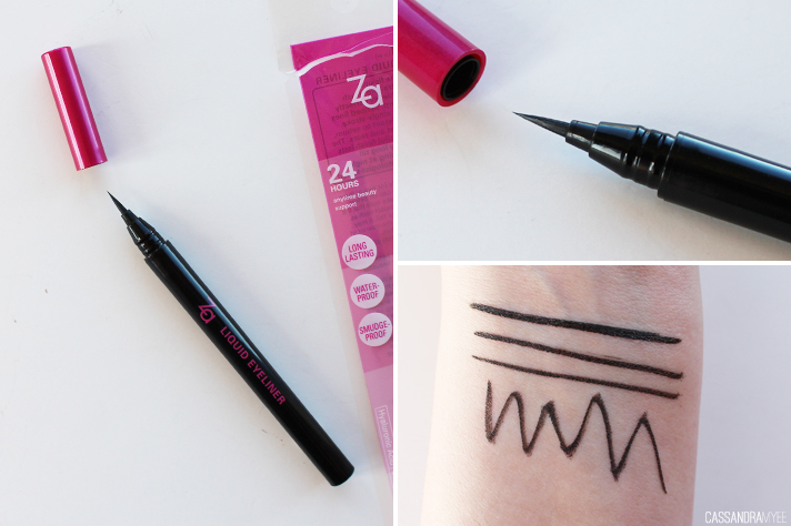 ZA COSMETICS // Gel + Liquid Eyeliners | Review + Swatches - CassandraMyee