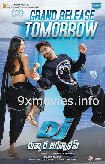 DJ Duvvada Jagannadham 2017 Hindi Dubbed 480p HDRip 350mb