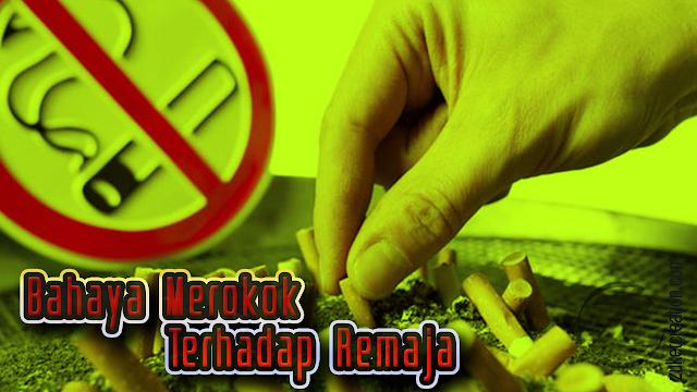 Makalah Bahaya Merokok Terhadap Remaja