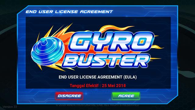 Seru Juga! Gyro Buster Game Gangsing Online Analog Di Android