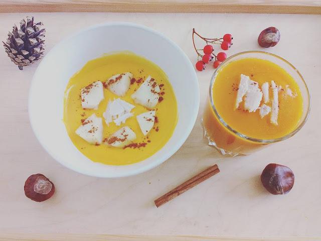 Dyniowe pomysły: smoothie i jogurty