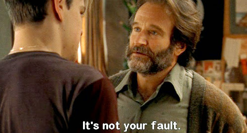 Good Will Hunting - It's Not Your Fault- Robin Williams Scene |CrazySexyCool Hollywood