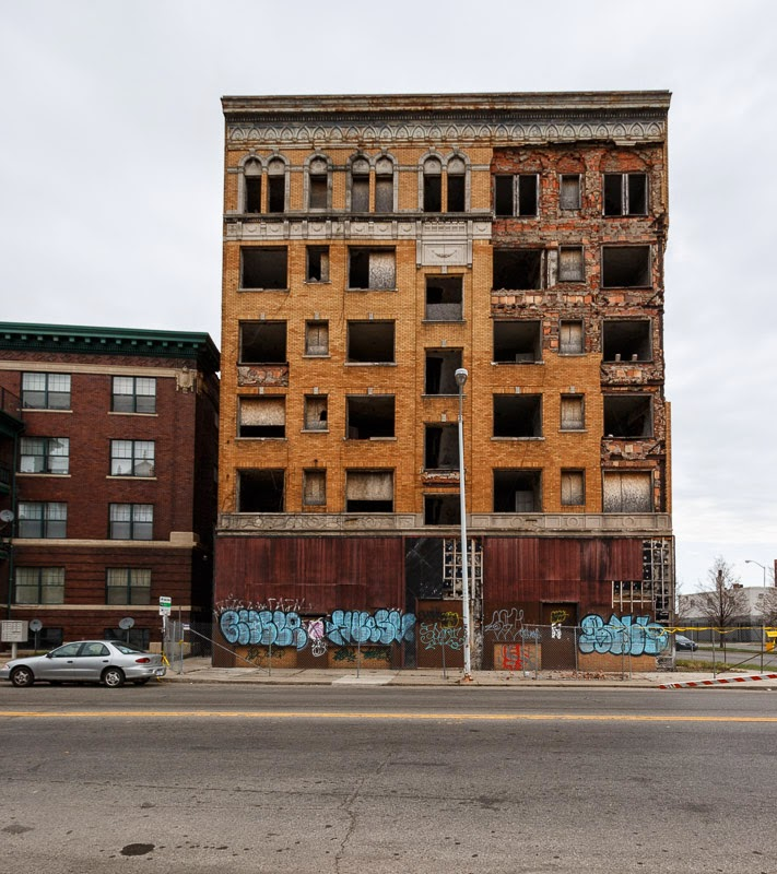 Chesterfield Apartments: Faded Detroit: Cass Corridor Construction