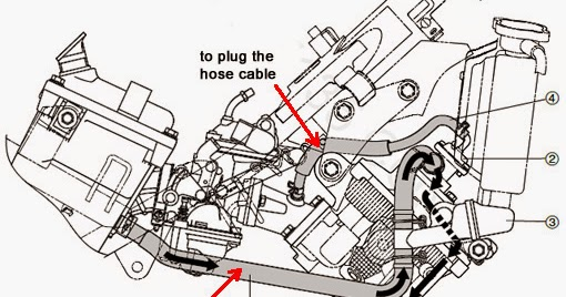 yamaha 135lc engine diagram