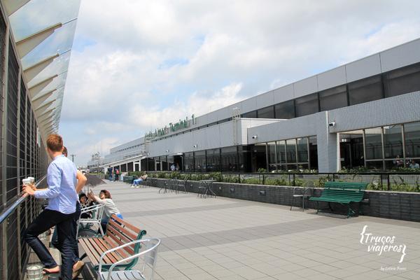 observacion de aviones aeropuerto de Narita Japon