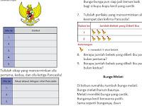 Unduh Soal PAT / UKK SD/MI Kelas 2 Semester 2 Kurikulum 2013 Revisi 2017