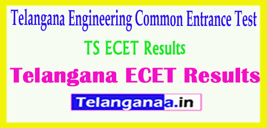 Telangana TS ECET TSECET 2018 Results Download
