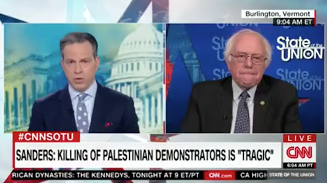 """Bernie Sanders On Gaza Clashes: I Do Not Accept Israeli Government's Explanation, Palestinians Engaged In """"Nonviolent Protest"""" (VIDEO)"""