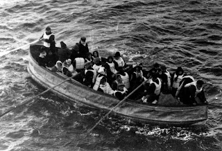 The Titanic, Survivors, Lifeboats, UK History